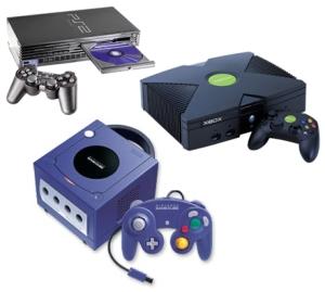 PS2 Xbox Gamecube