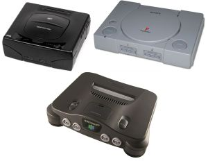 Saturn Playstation N64