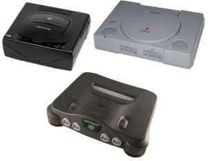 Saturn Playstation N64