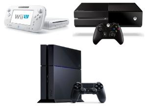 Wii-u PS4 Xbox ONE