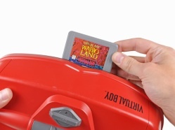 Cartuchos propios del Virtual Boy